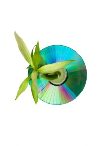 Going Greener CD and DVD Duplication