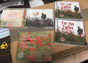 rembrance cd soldier in field of poppies