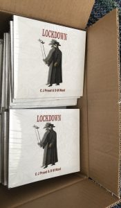 cd digipak in white with grim reaper on front