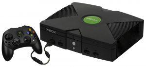 black x box console