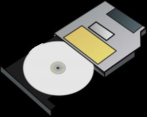cd in disc drive